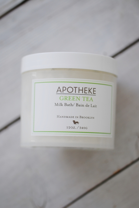 APOTHEKE - GREEN TEA - MILK BATH