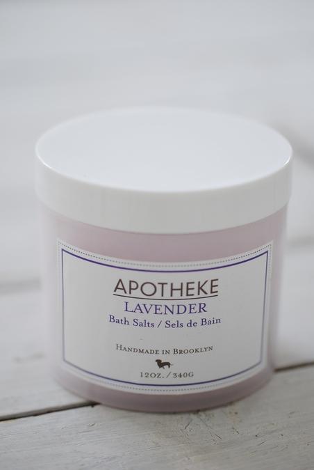 APOTHEKE - BATH SALTS - LAVENDER