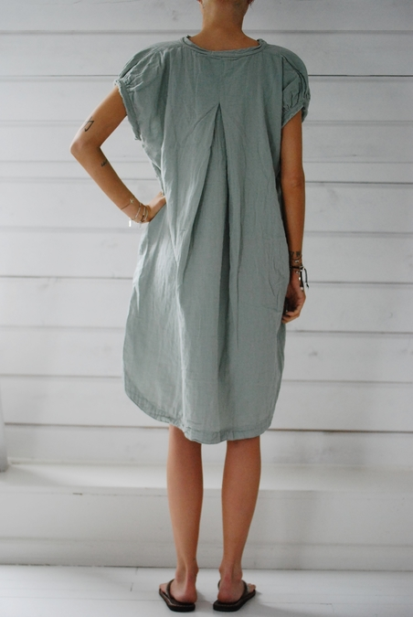 RABENS SALONER - OLGA DRESS - SOFT JADE