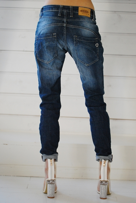 PLEASE - NEW CLASSIC - BLUE DENIM