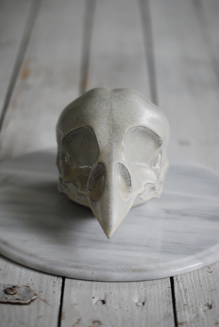 BIRDSKULL - OFF WHITE