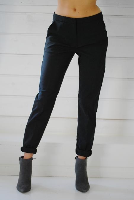RUE DE FEMME - SLIM PANT - BLACK